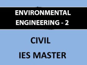 IES MASTER ENVIRONMENTAL ENGINEERING 2 WASTE WATER ENGINEERING Main Page 2