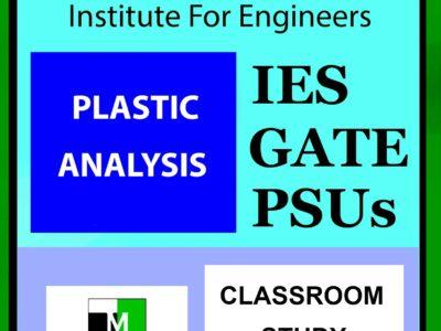IES MASTER Plastic Analysis Main Page