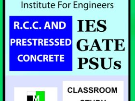 IES MASTER RCC AND PRESTRESSED CONCRETE GATE IES PSU GOVT EXAMS STUDY MATERIAL MAIN 1