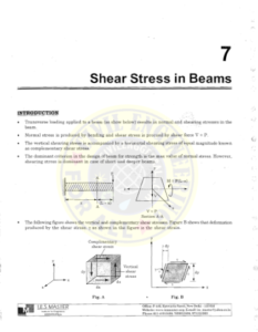 IES MASTER Strength of Materials 2 - Shear Stress in Beams