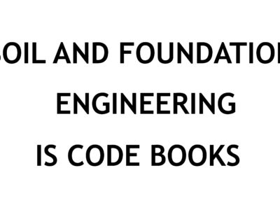 SOIL AND FOUNDATION ENGINEERING INDIAN STANDARD CODE BOOKS FREE DOWNLOAD PDF CIVILENGGFORALL