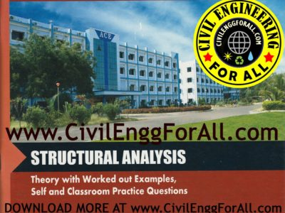 STRUCTURAL ANALYSIS ACE ACADEMY GATE MATERIAL CivilEnggForAll