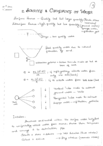 Environmental Engineering ACE GATE Handwritten Notes