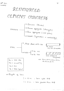 Reinforced Cement Concrete ACE GATE Handwritten Notes Free Download PDF CivilEnggForAll 2