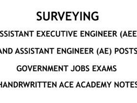 Surveying - AE - AEE - Civil Engineering Handwritten Notes - CivilEnggForAll