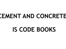 Cement and Concrete IS Code Books