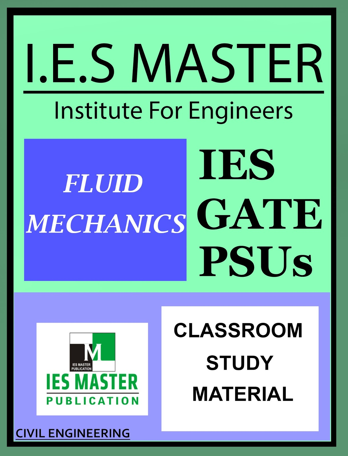 GATE MATERIAL] IES MASTER Fluid Mechanics Study Material for
