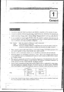 [GATE - PSU - GOVT EXAMS] Building Materials IES MASTERS Study Material Screenshot 1