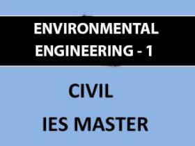 IES MASTER ENVIRONMENTAL ENGINEERING 1 WATER SUPPLY ENGINEERING Main Page 2