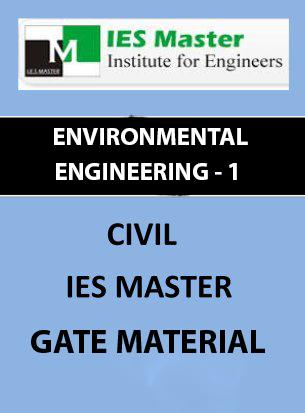 GATE MATERIAL] IES MASTER Environmental Engineering – 1