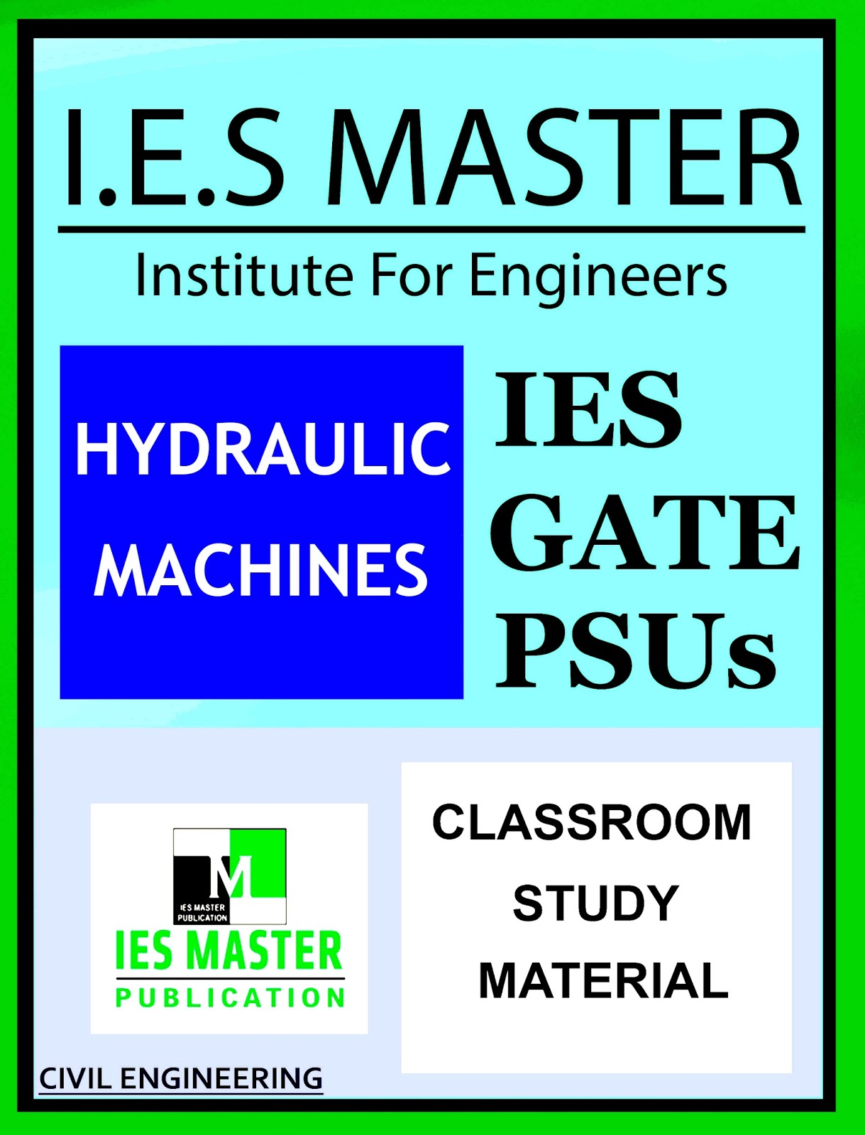 GATE MATERIAL] IES MASTER Hydraulic Machines Study Material