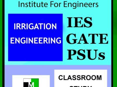 IES MASTER Irrigation Engineering Main Page 1