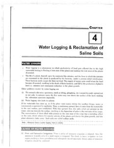 IES MASTER Irrigation Engineering Water Logging