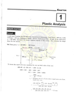 IES MASTER Plastic Analysis Chapter 1 - Conventional Questions and Solutions