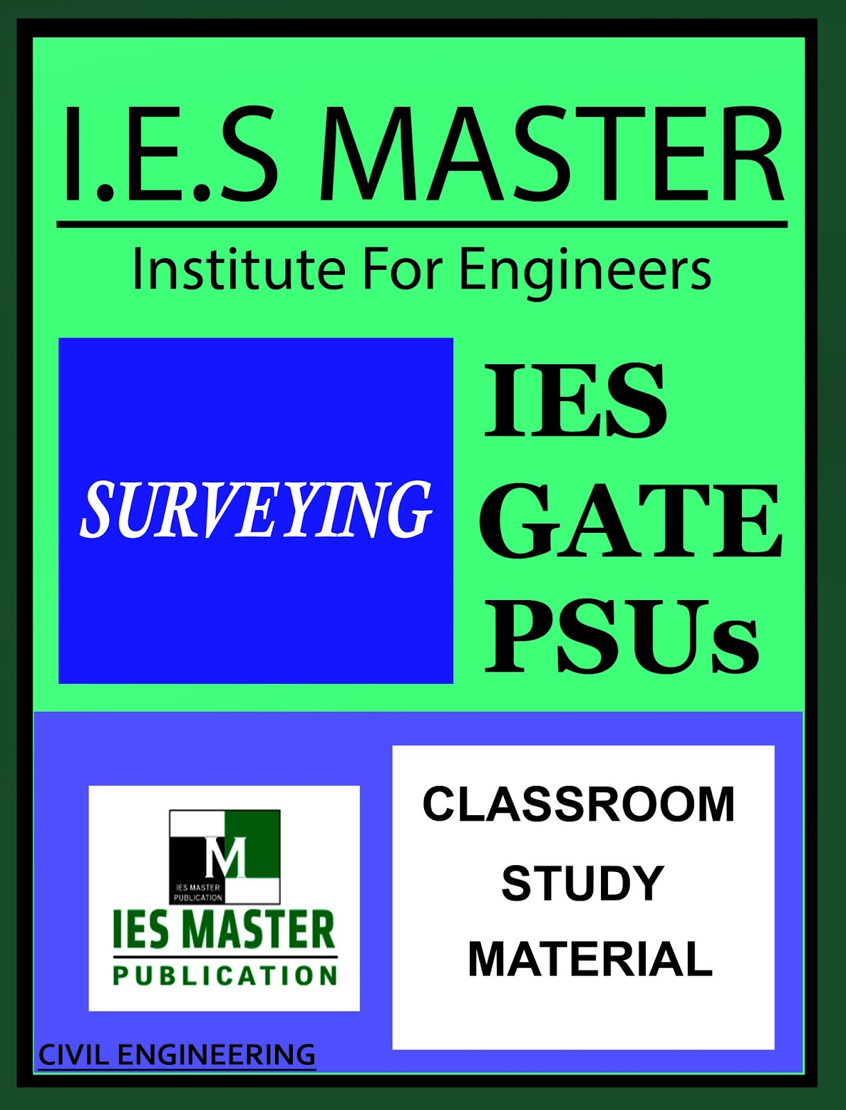 GATE MATERIAL] IES MASTER Surveying Study Material for GATE