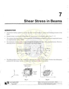 IES MASTER Strength of Materials 2 - Shear Stress in Beams