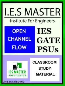 IES Master Open Channel Flow Main Page 1
