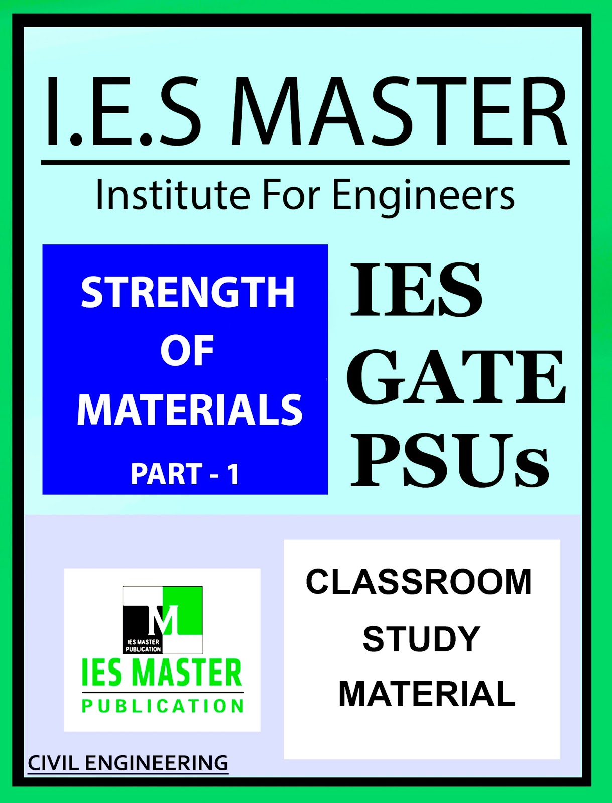 GATE MATERIAL] IES MASTER Strength of Materials Part – 1