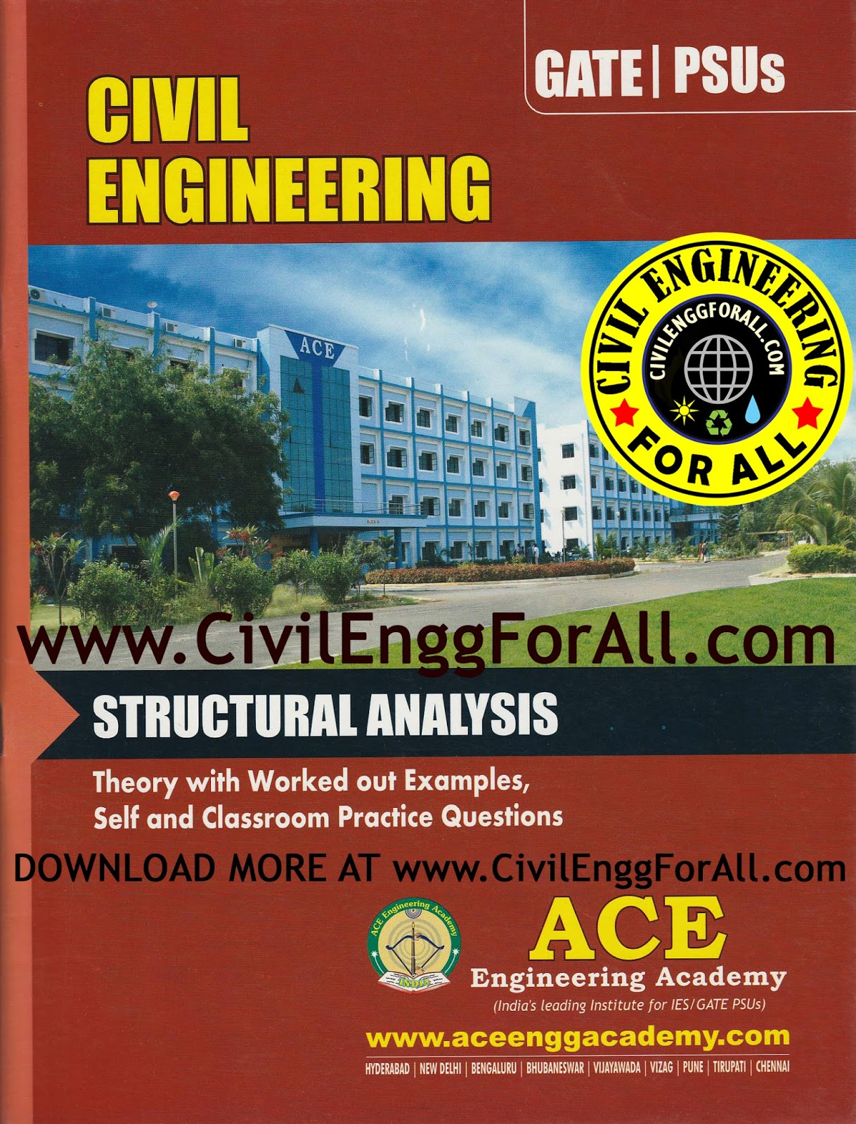 GATE MATERIAL] Structural Analysis – Civil Engineering – Ace