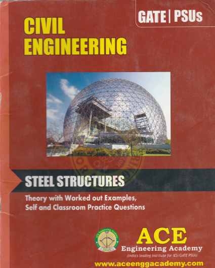 GATE MATERIAL] Steel Structures – Civil Engineering – Ace