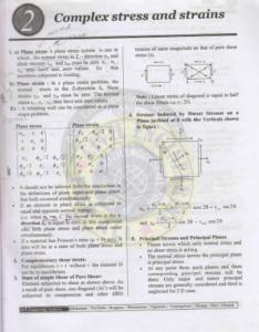 Strength of Materials ACE GATE IES PSU Study Material 3