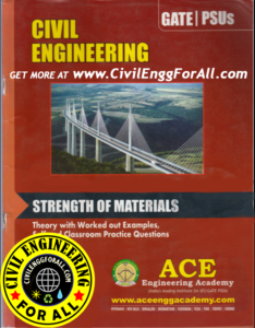 Strength of Materials ACE GATE IES PSU Study Material