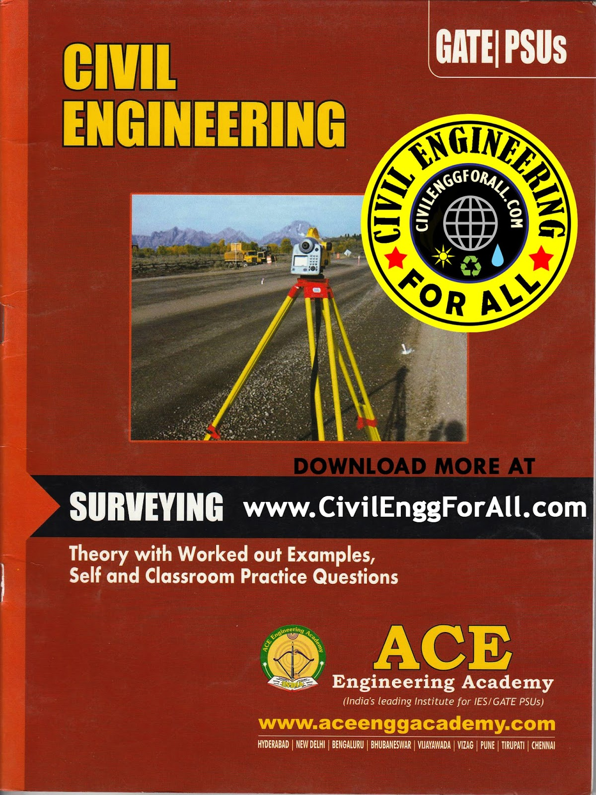 GATE MATERIAL] Surveying – Civil Engineering – Ace