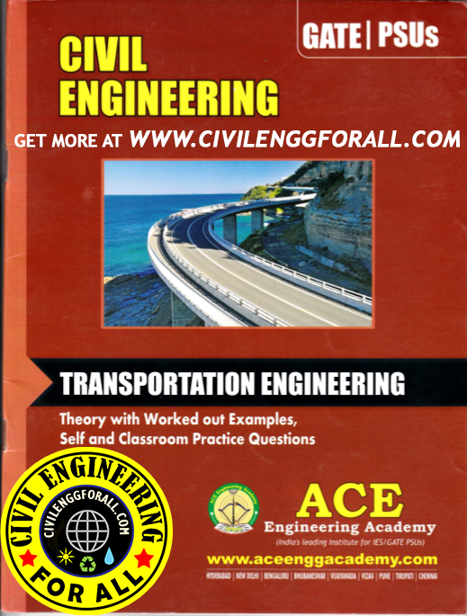 GATE MATERIAL] Transportation Engineering – Civil