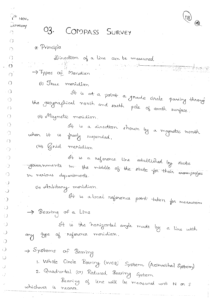 Surveying ACE GATE Handwritten Notes Free Download PDF CivilEnggForAll