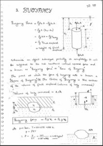 GATE NOTES] Fluid Mechanics – GATE, IES, Govt Exams