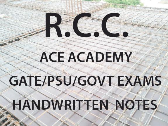 RCC ACE Academy GATE Handwritten Notes Free Download PDF