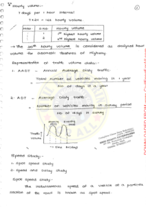 Transportation Engineering AE AEE Ace Academy Handwritten Notes PDF