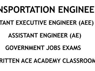 Transportation Engineering - AE - AEE - Civil Engineering Handwritten Notes - CivilEnggForAllTransportation Engineering - AE - AEE - Civil Engineering Handwritten Notes - CivilEnggForAll
