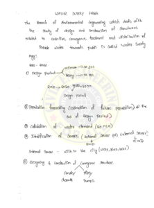 Environmental Engineering AE AEE Handwritten ACE Academy Notes