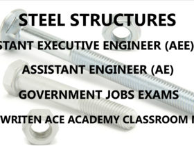 Steel Structures AE & AEE Ace Academy Handwritten Notes PDF