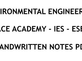 Environmental Engineering IES ESE Exam Ace Academy Notes